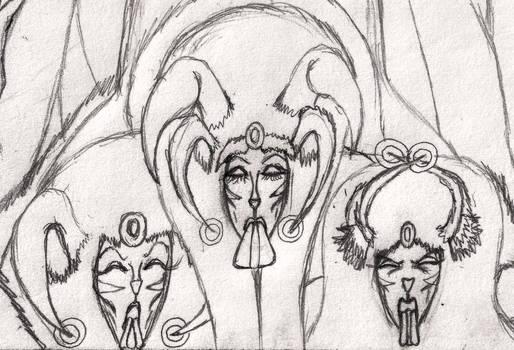 Mun-Da Trophy-Drawing 0 (Portrait)