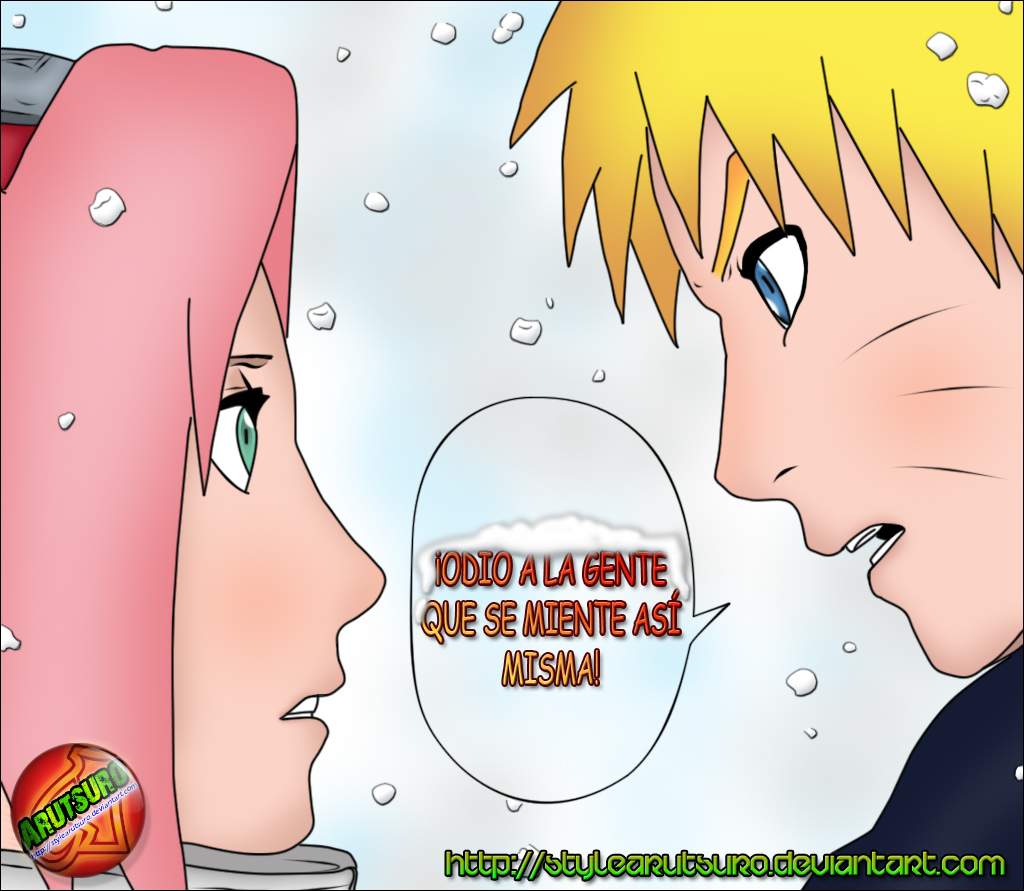 Sakura y Naruto by StyleArutsuro on DeviantArt