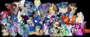 /mlp/ Bat Pony Family Photo
