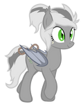 Vinca the bat pony