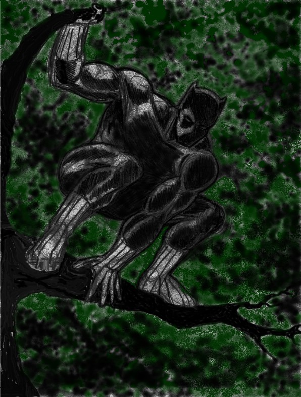 Progression: Black Panther 3 by Ragnaroker