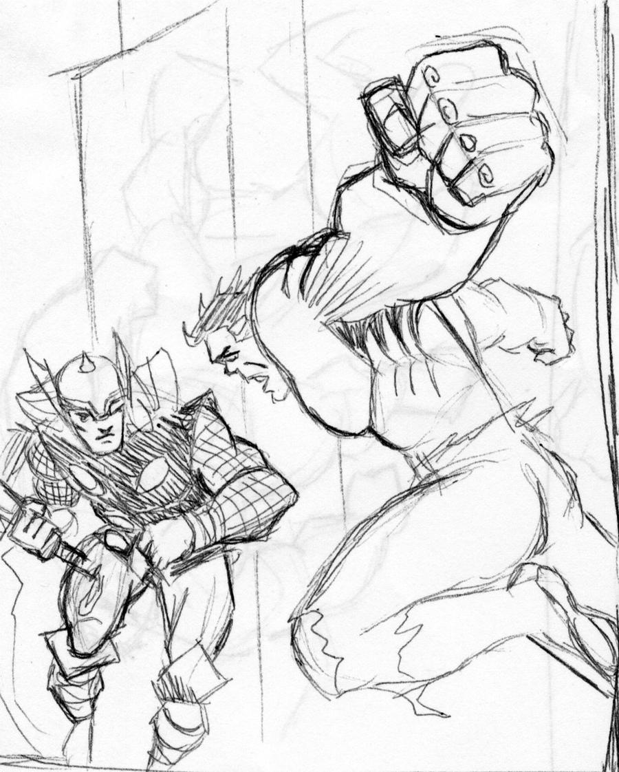 Thor Vs Hulk Thumbnails By Ragnaroker On DeviantART