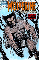 WOLVERINE: The Best There Is #1 sketch cover