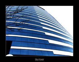 Blue Tower by vert