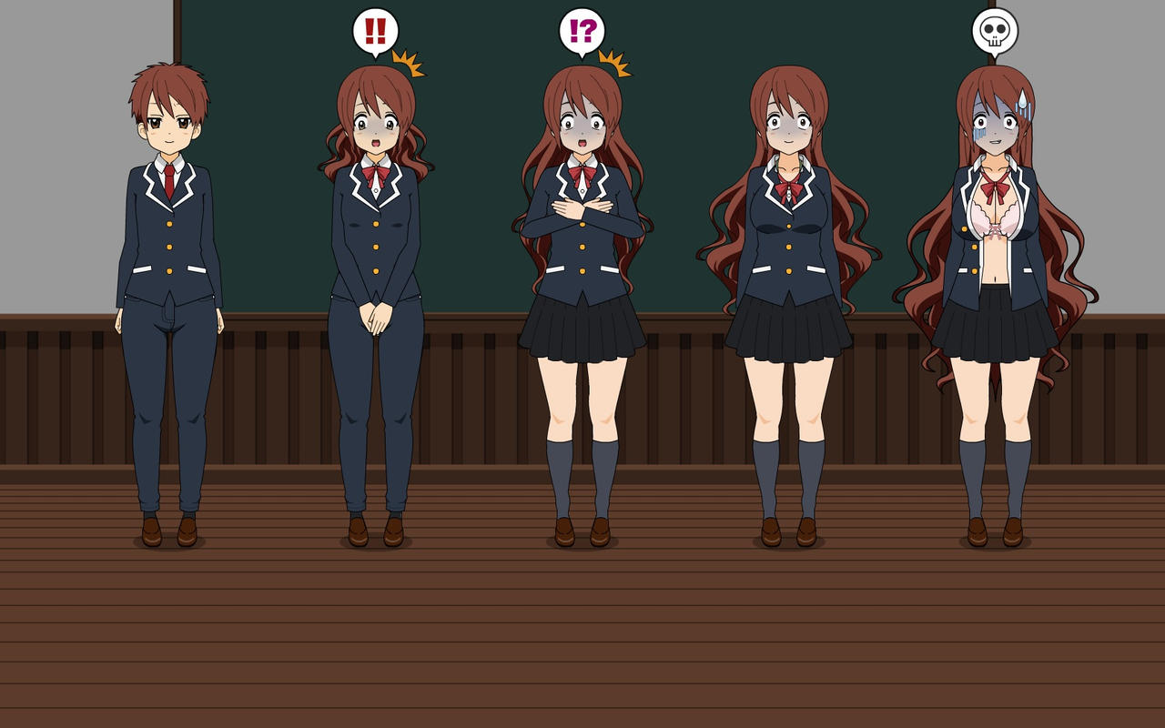 Gender Transformation 4 by VoJa12 on DeviantArt