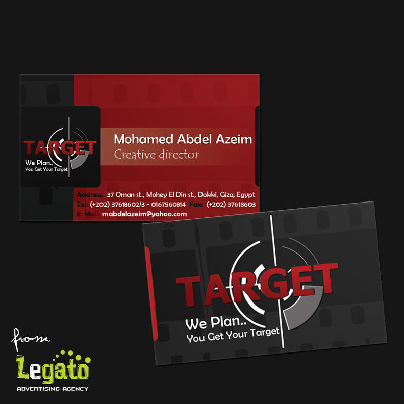 Target-Business Card by soma4ever on DeviantArt
