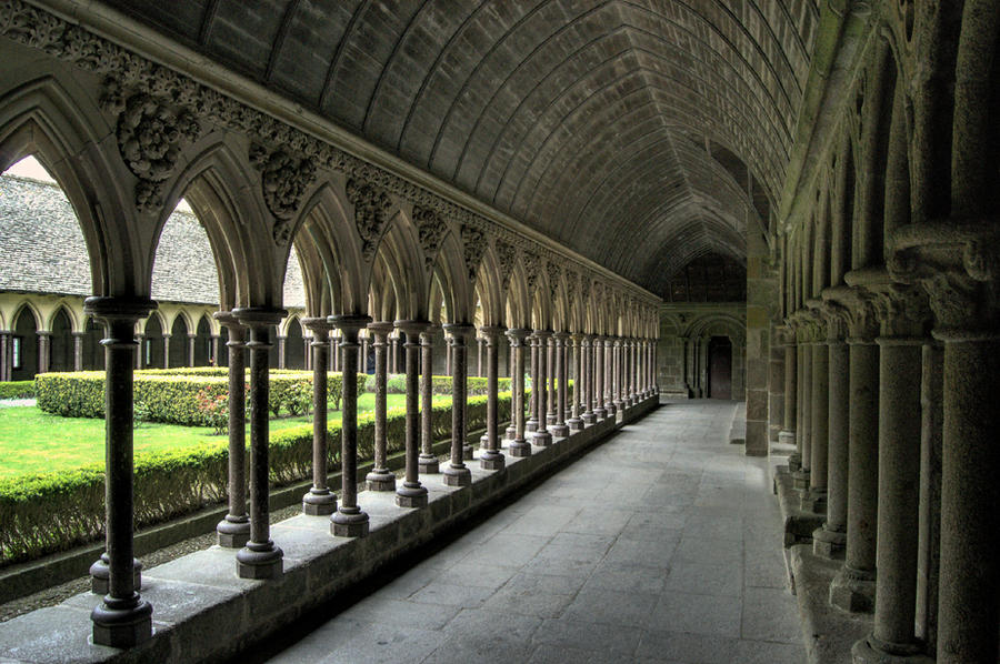 A day at mont saint michel xi by kakobrutus on deviantart for Mont saint michel interieur