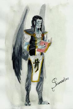 Ancient vampire Mortanius