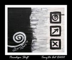 Paradigm Shift by AzureRayArt