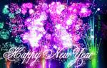 Happy New Year 005 by AzureRayArt