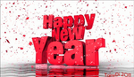 Happy New Year 009 by AzureRayArt