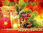 Happy Holidays 003 by AzureRayArt