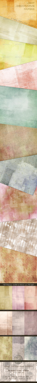 Light Decorative Papers by AzureRayArt