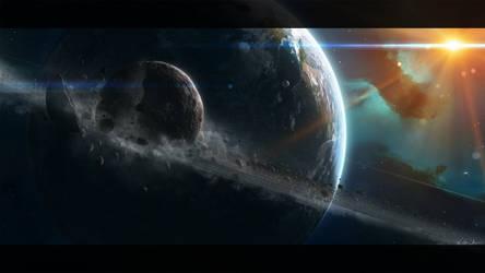 Moon by GabrielBStiernstrom