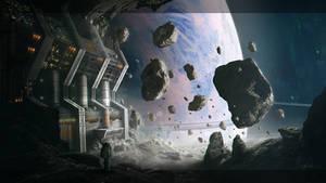 Asteroid Mining Facility