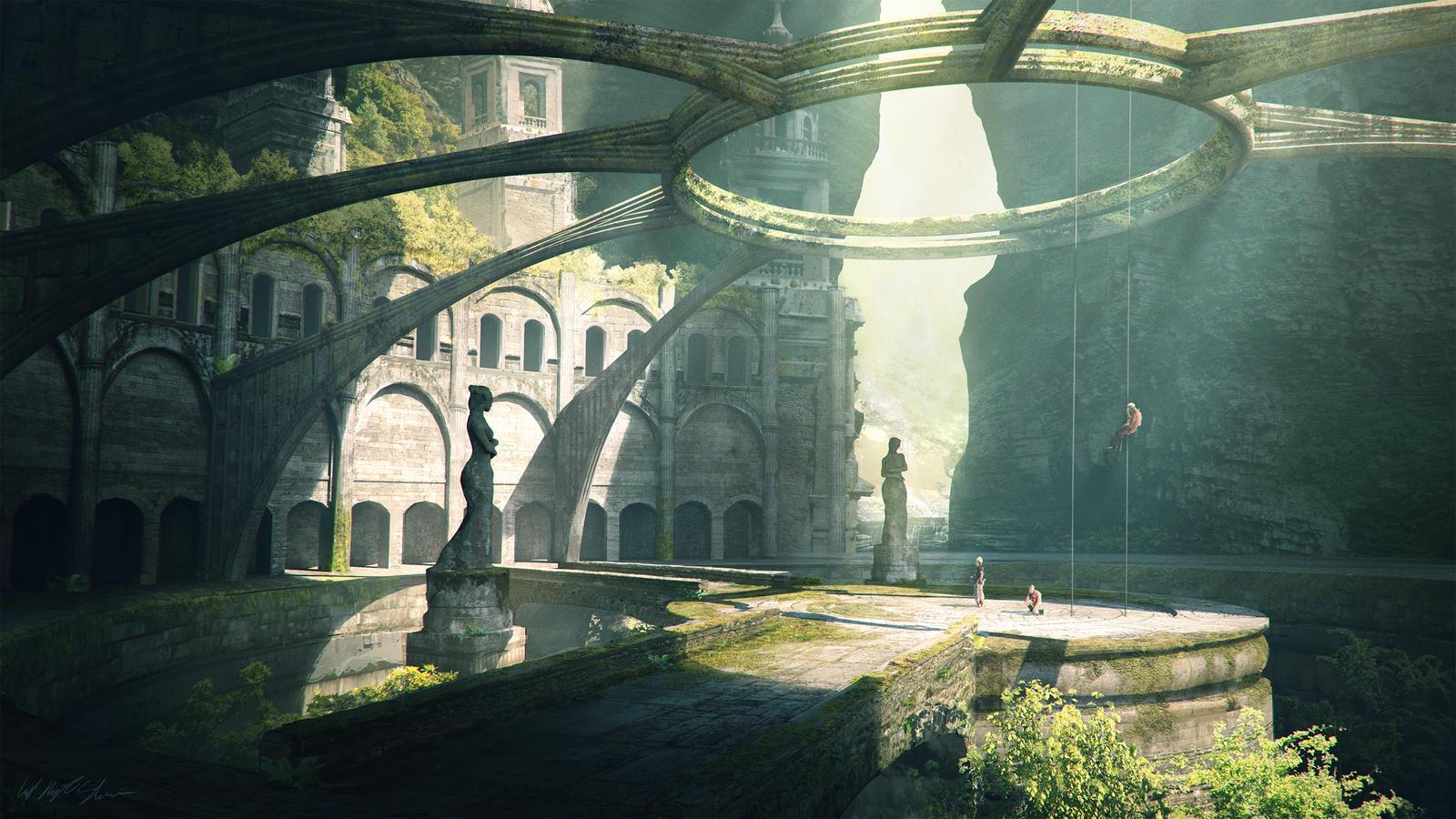 Exploration of an Old World by GabrielBStiernstrom