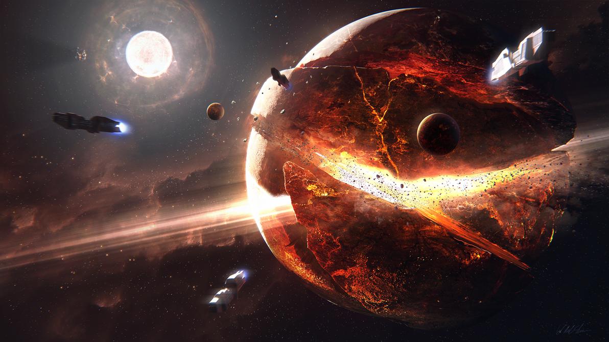 Hades' Star - Supernova by Gabriel-BS