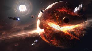 Hades' Star - Supernova by GabrielBStiernstrom
