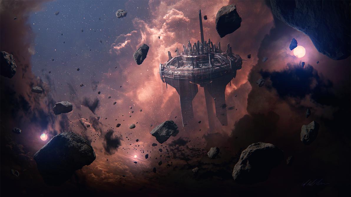 Hades' Star - Black Citadel by GabrielBStiernstrom