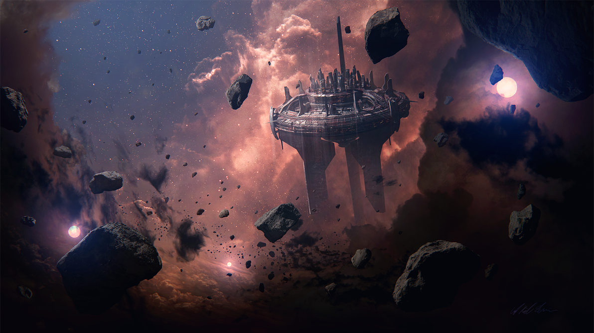 Hades' Star - Black Citadel by Gabriel-BS