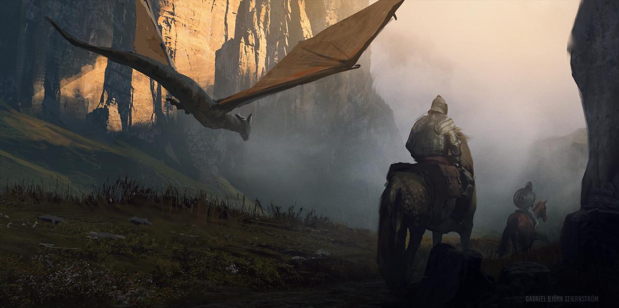 Dragon Valley by GabrielBStiernstrom