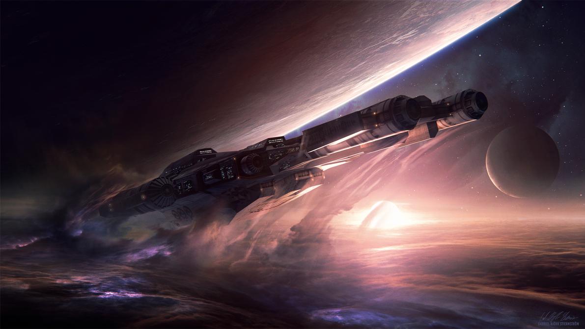 Hades' Star - Battleship by GabrielBStiernstrom