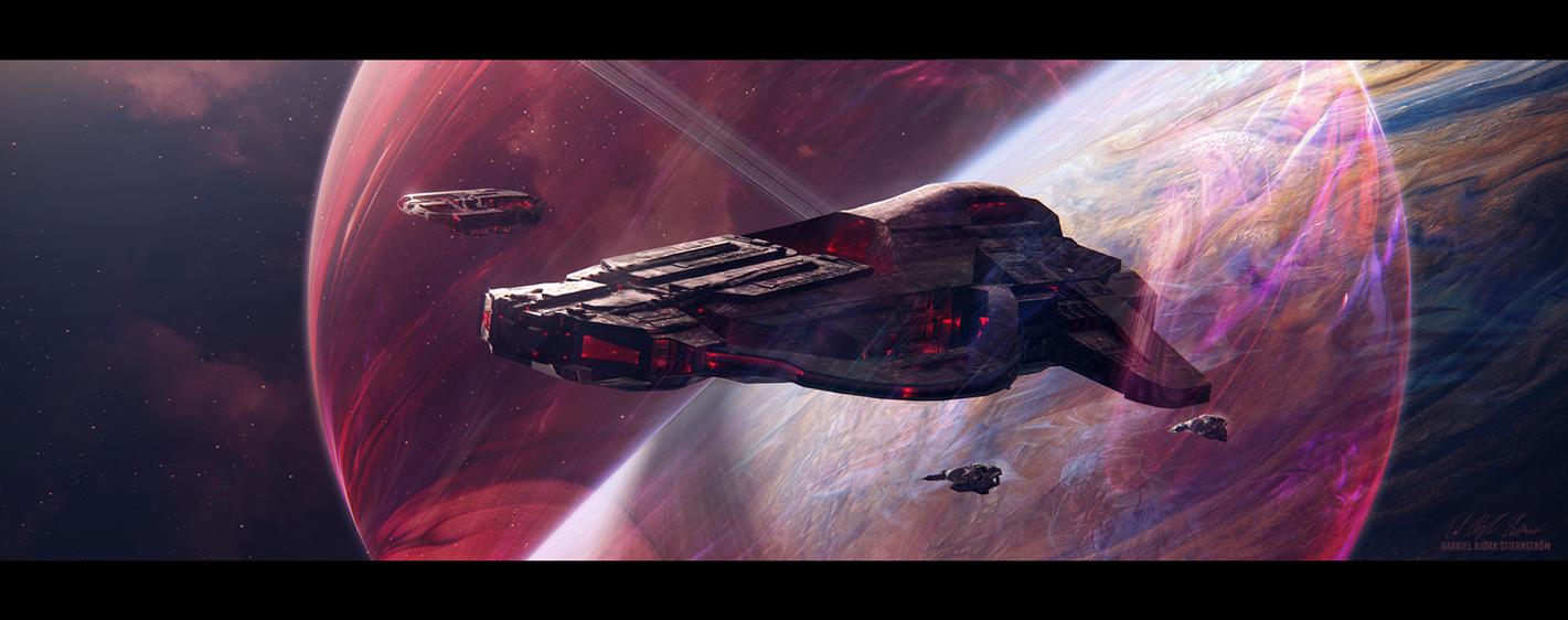 Hades' Star - Cerberus Phoenix by GabrielBStiernstrom