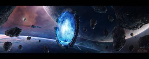 Hades' Star - Blue Star Artifact by GabrielBStiernstrom
