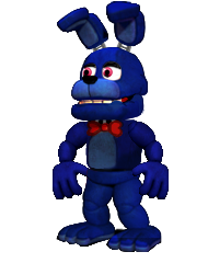Adventure Accurate Bonnie Fnaf 1 by TrevorMother