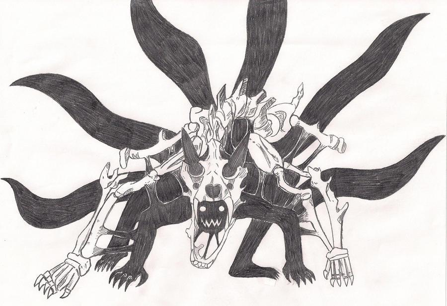 Naruto Nine-tailed form by xEnmaKozatox on DeviantArt  Naruto Nine-tai...