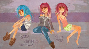 SketchOct 1: Outfits.