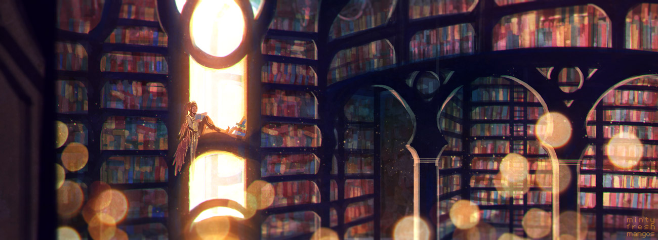 SD8.9.14: Booksbooksbooks by mintyfreshmangos