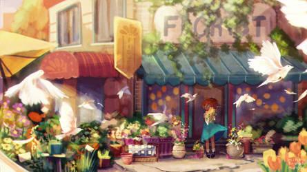 07.19.16 Florist by mintyfreshmangos
