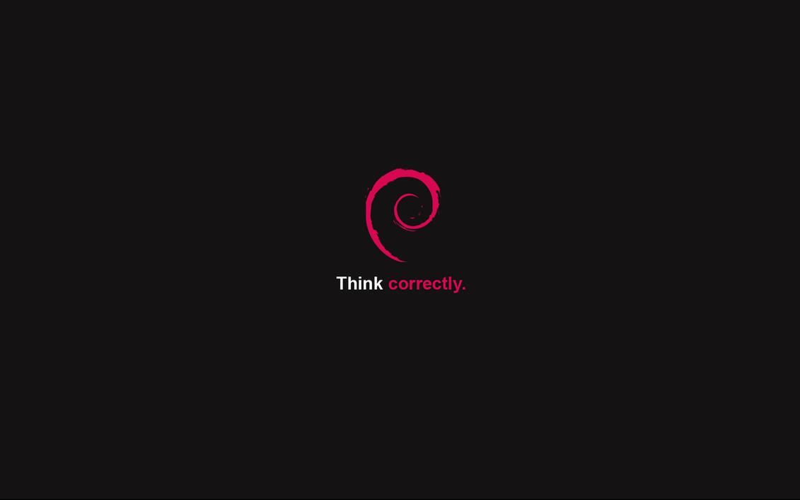 Think correctly - Debian by cyric80