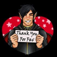 Thank You For Fav by Vampire-Sensei