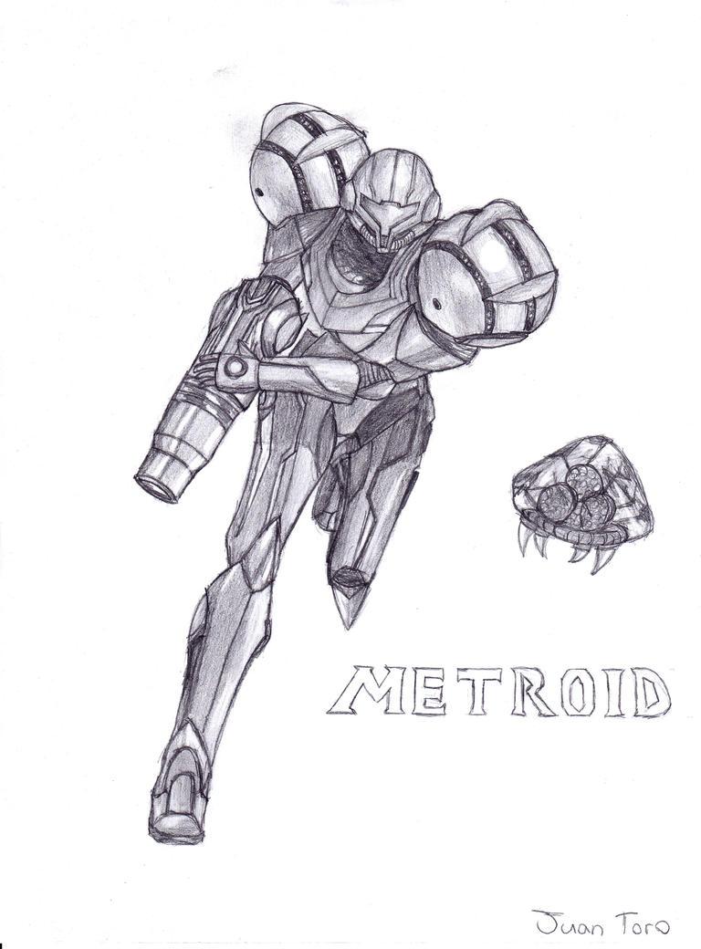 Metroid by BlazeZubark