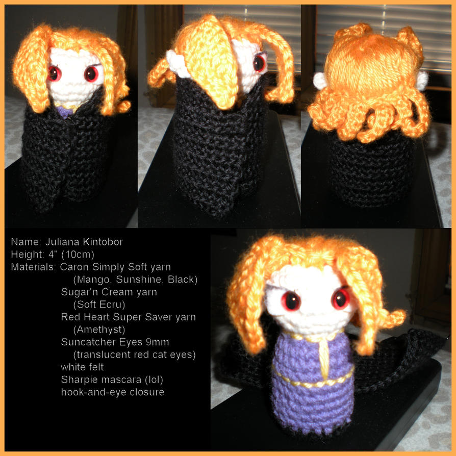 Amigurumi Juliana by JulianaK