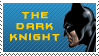 Batman Dark Knight Stamp by Calaval