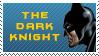 Batman Dark Knight Stamp by Calaval