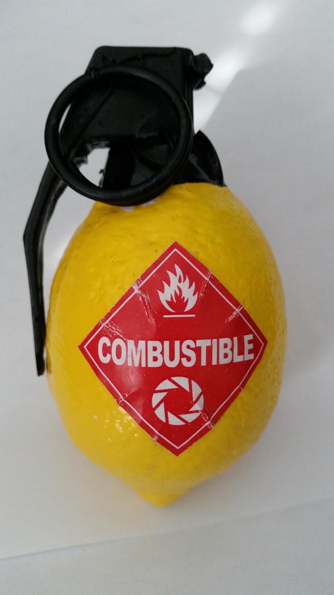 Portal 2 Combustible Lemon by ronime