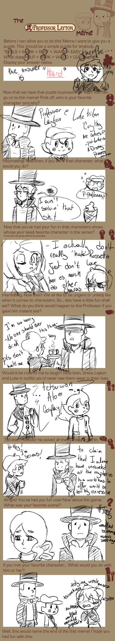 Professor Layton meme by Franny-draws-shit