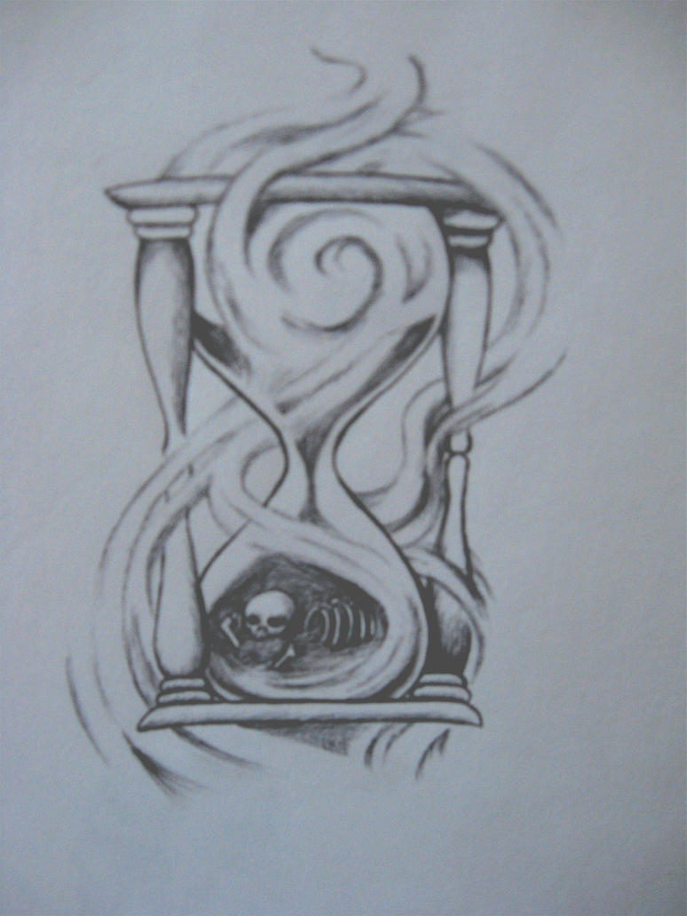 hourglass of bones by chocopbcup22 on DeviantArt