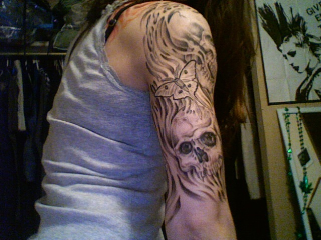 My arm continued by chocopbcup22 on deviantart for Hallowed ground tattoo