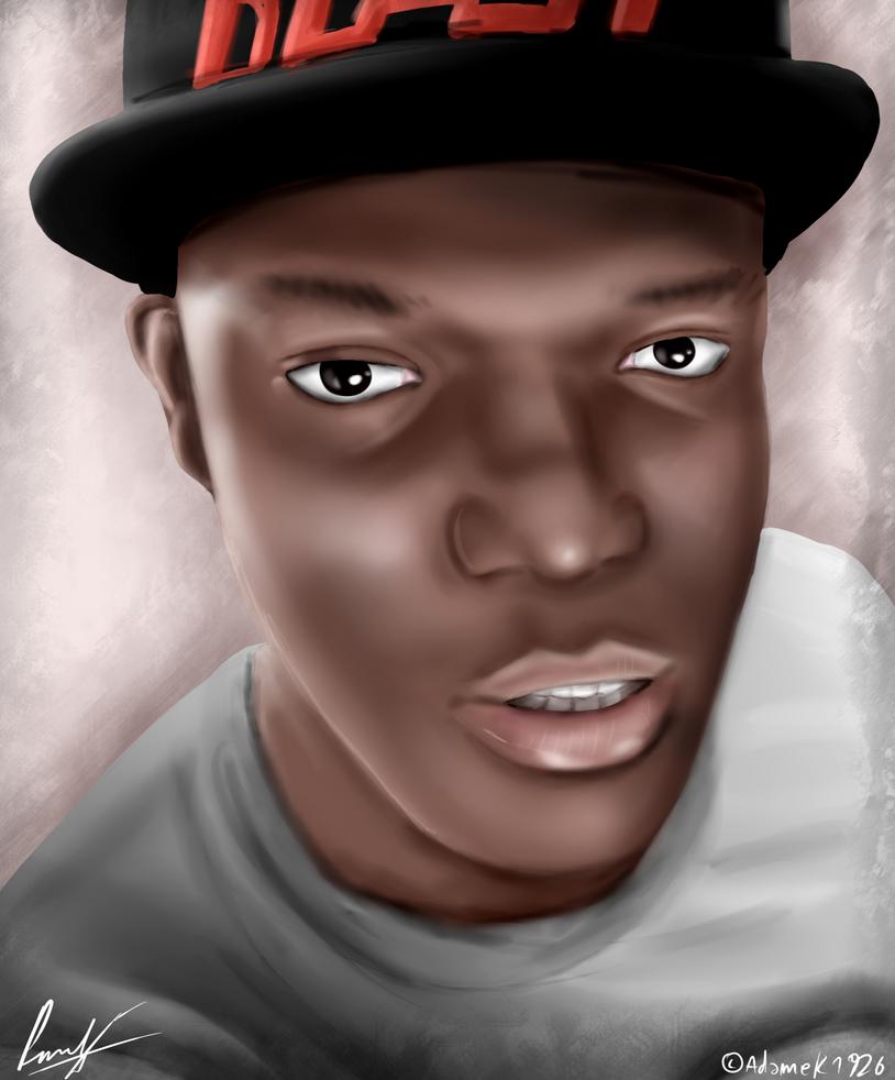KSI Portrait By Adamek1926 On DeviantArt