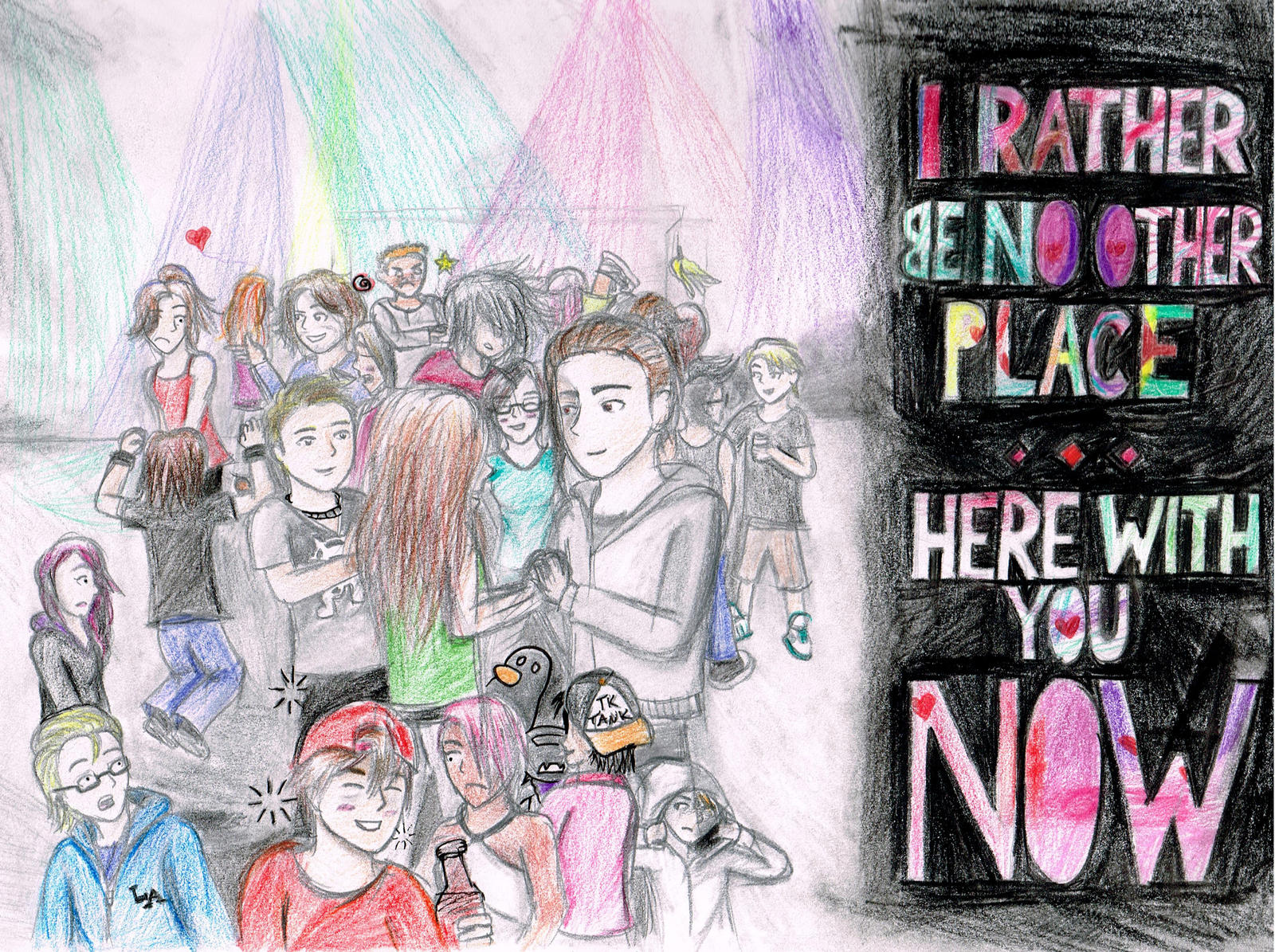 I Rather Be No Other Place... Here With You Now by iamthek3n