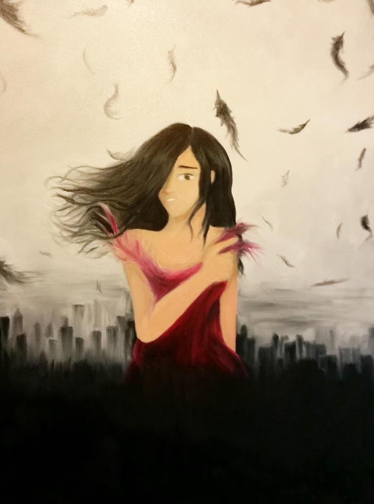 Fallen Angel by iamthek3n