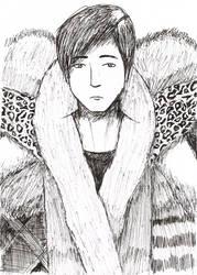 Man in Fur by iamthek3n