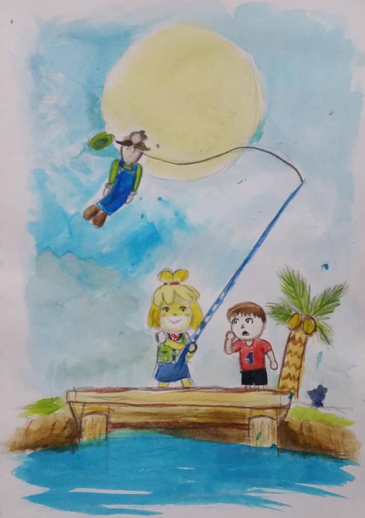 Fishing at Tortimer Island by iamthek3n