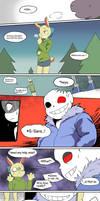 [Horrortale] Bad Joke [fancomic]
