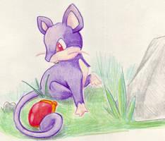 Rattata by rayechu